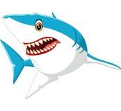 Cute shark cartoon. Illustration of cute shark cartoon vector illustration