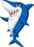 Cute shark cartoon. Lllustration of Cute shark cartoon stock illustration