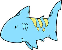 Cute Shark Vector Stock Photo