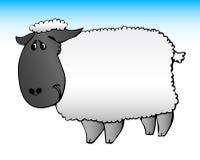 Cute sheep stock illustration