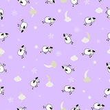 Cute sheep background Royalty Free Stock Photography