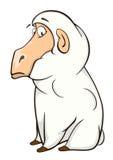 Cute sheep cartoon Stock Photography