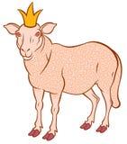Cute sheep Royalty Free Stock Image