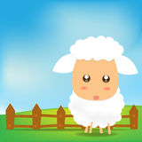 Cute Sheep 002 Royalty Free Stock Image