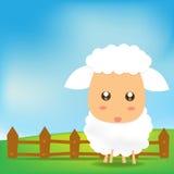 Cute Sheep 002 Royalty Free Stock Image