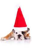 Cute shy little santa Royalty Free Stock Photos