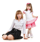 Cute Sisters Royalty Free Stock Image
