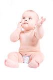 Cute six month baby Royalty Free Stock Photography