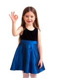 Cute six year old girl Stock Photography