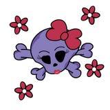 Cute skull Royalty Free Stock Photo