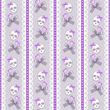 Cute skulls Royalty Free Stock Photography