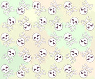 Cute skulls Royalty Free Stock Image