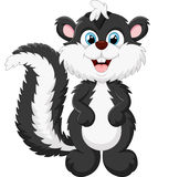 Cute skunk cartoon Stock Photo