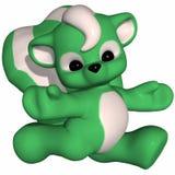 Cute Skunk - Toon Figure Stock Images