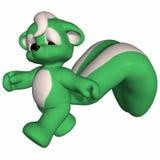 Cute Skunk - Toon Figure Royalty Free Stock Photo