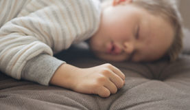 Cute sleeping baby Royalty Free Stock Image