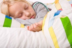 Cute sleeping child Royalty Free Stock Photo
