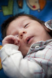 Cute sleeping newborn baby Royalty Free Stock Photo