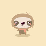 Cute sloth. Royalty Free Stock Photos