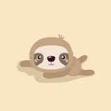 Cute sloth. Stock Photos