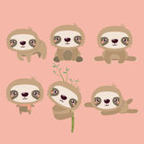 Cute sloth. Stock Images