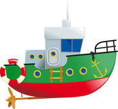 Cute small boat Royalty Free Stock Photography