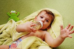 Cute small  boy Stock Images
