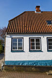 Cute and small danish house Royalty Free Stock Photos