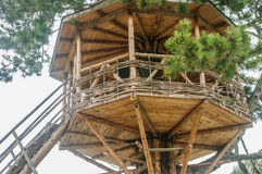 Cute small tree house Stock Image