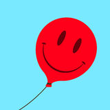 Cute smiley face balloon Royalty Free Stock Photography