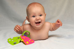 Cute Smiling Baby Royalty Free Stock Photography