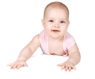 Cute smiling baby Royalty Free Stock Photos
