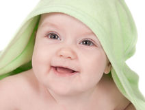Cute smiling baby Stock Photography