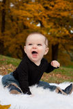 Cute smiling baby Stock Photo