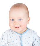 Cute smiling baby boy Stock Photo