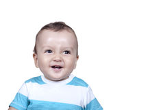 Cute smiling baby boy Royalty Free Stock Photos