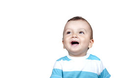 Cute smiling baby boy Royalty Free Stock Images