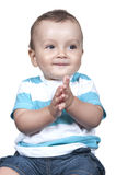 Cute smiling baby boy Royalty Free Stock Photo