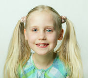 Cute smiling child - happy! Royalty Free Stock Photography