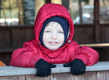 Cute smiling child Stock Image