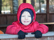 Cute smiling child Royalty Free Stock Photos