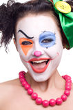 Cute smiling clown Royalty Free Stock Photo