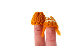 Cute smiling couple Royalty Free Stock Photo