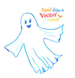 Cute smiling ghost Stock Image