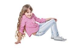 Cute smiling girl Stock Photo