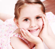 Cute smiling girl Royalty Free Stock Images