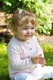 Cute smiling infant Royalty Free Stock Photo