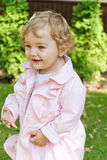 Cute smiling infant Royalty Free Stock Images
