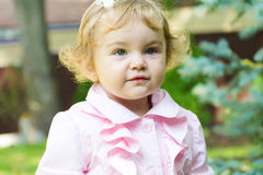 Cute smiling infant Stock Images