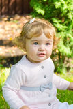 Cute smiling infant Royalty Free Stock Photos